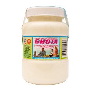 Бифилакт БИОТА с пониженным содержанием лактозы со 100% живыми бифидобактериями и лактобактериями, жирность 1 %